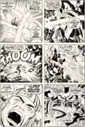 Original Comic Art:Story Page, Jack Kirby and Vince Colletta Thor #177 Story Page 9 Original Art (Marvel, 1970)....
