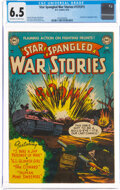 Golden Age (1938-1955):War, Star Spangled War Stories 131 (#1) (DC, 1952) CGC FN+ 6.5 Off-white to white pages....