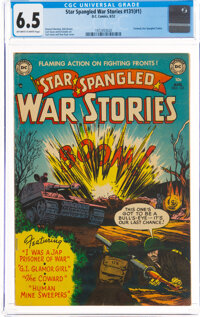 Star Spangled War Stories 131 (#1) (DC, 1952) CGC FN+ 6.5 Off-white to white pages