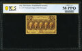 Fractional Currency:First Issue, Fr. 1279 25¢ First Issue PCGS Banknote Choice AU 58 PPQ.. ...