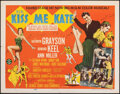 """Movie Posters:Musical, Kiss Me Kate (MGM, 1953). Folded, Overall: Very Fine-. Half Sheets (2) Style A & B (22"""" X 28"""") 2 Styles. Musical.. ..."""