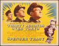 """Movie Posters:War, Thirty Seconds Over Tokyo (MGM, 1944). Folded, Very Fine-. Half Sheet (22"""" X 28""""). War.. ..."""