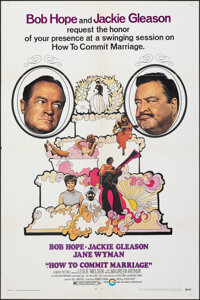 How to Commit Marriage & Other Lot (Cinerama Releasing, 1969). Folded, Overall: Very Fine. One Sheet (2) & Signe...