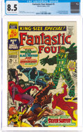 Silver Age (1956-1969):Superhero, Fantastic Four Annual #5 (Marvel, 1967) CGC VF+ 8.5 Off-wh...