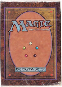 Magic: The Gathering Alpha Edition Still Sealed Starter Deck (Wizards of the Coast, 1993)