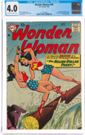 Silver Age (1956-1969):Superhero, Wonder Woman #98 (DC, 1958) CGC VG 4.0 Off-white to white pages....