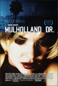 """Movie Posters:Drama, Mulholland Dr. (Universal, 2001). Rolled, Very Fine+. One Sheet (27"""" X 40"""") DS. Drama.. ..."""