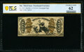 Fr. 1357 50¢ Third Issue Justice PCGS Banknote Uncirculated 62 Details