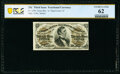 Fractional Currency:Third Issue, Fr. 1296 25¢ Third Issue PCGS Banknote Uncirculated 62.. ...