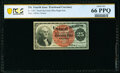 Fractional Currency:Fourth Issue, Fr. 1307 25¢ Fourth Issue PCGS Banknote Gem Unc 66 PPQ.. ...