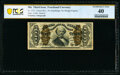 Fractional Currency:Third Issue, Fr. 1331 50¢ Third Issue Spinner Courtesy Autograph PCGS Banknote Extremely Fine 40.. ...