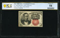 Fractional Currency:Fifth Issue, Fr. 1266 10¢ Fifth Issue Courtesy Autograph PCGS Banknote Choice AU 58.. ...