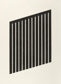 Prints & Multiples, Donald Judd (1928-1994). Untitled, 1978-79. Aquatint on wove paper. 40 x 29-1/2 inches (101.6 x 74.9 cm) (sheet). Ed. 15...
