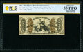 Fr. 1369 50¢ Third Issue Justice PCGS Banknote About Unc 55 PPQ