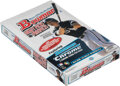 Baseball Cards:Unopened Packs/Display Boxes, 2009 Bowman Draft Picks & Prospects Baseball Unopened Hobby Box With 24 Pack - Possible Mike Trout! ...