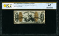 Fractional Currency:Third Issue, Fr. 1373 50¢ Third Issue Justice PCGS Banknote Uncirculated 62.. ...