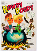 Golden Age (1938-1955):Humor, Howdy Doody #6 (Dell, 1951) Condition: VG+....