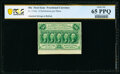 Fr. 1310a 50¢ First Issue Small Perforations PCGS Banknote Gem Unc 65 PPQ