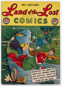 Land of the Lost Comics #1 (EC, 1946) Condition: FN