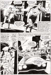 Gene Colan and Dick Ayers Tales to Astonish #84 Story Page 3 Sub-Mariner Original Art (Marvel, 1966)