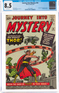 Silver Age (1956-1969):Superhero, Journey Into Mystery #83 (Marvel, 1962) CGC VF+ 8.5 White pages....