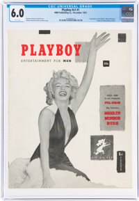 Playboy #1 (HMH Publishing, 1953) CGC FN 6.0 White pages