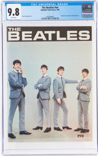 The Beatles #nn (Highlight Publications, 1964) CGC NM/MT 9.8 White pages