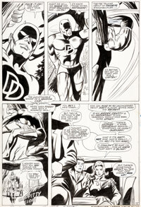 Gene Colan and Dick Ayers Daredevil #28 Story Page 4 Original Art (Marvel, 1967)