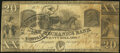 Obsoletes By State:Georgia, Augusta, GA- Mechanics Bank $20 July 1, 1849 Very Good.. ...