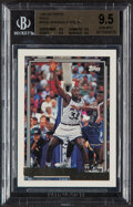 Basketball Cards:Singles (1980-Now), 1992 Topps Gold Shaquille O'Neal #362 BGS Gem Mint 9.5. ...