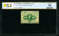 Fractional Currency:First Issue, Courtesy Autograph Fr. 1241 10¢ First Issue PCGS Banknote Very Fine 30 Details.. ...
