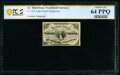 Fr. 1226 3¢ Third Issue Courtesy Autograph PCGS Banknote Choice Unc 64 PPQ