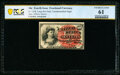 Fractional Currency:Fourth Issue, Fr. 1258 10¢ Fourth Issue Courtesy Autograph PCGS Banknote Uncirculated 61.. ...