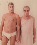 Photographs, Annie Leibovitz (American, 1949). Tony Curtis and Jack Lemmon, 1995. Dye coupler. 15-1/4 x 12-3/4 inches (38.7 x 32.4 cm...
