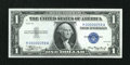 Small Size:Silver Certificates, Fr. 1607 $1 1935 Silver Certificate. Low Serial Number. Gem Crisp Uncirculated.. ...
