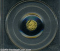 California Fractional Gold: , 1874 Indian Octagonal 25 Cents, BG-795, R.3, MS65 PCGS. ...