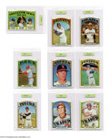 Baseball Cards:Sets, Baseball 1972 Topps Baseball Set (787ct.) EX/MT Appraised. ...