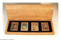 Baseball Collectibles:Others, Baseball NOLAN RYAN PORCELAIN SET Authenticated. This is a ...