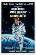 "Movie Posters:James Bond, Moonraker (United Artists, 1979). Rolled, Very Fine+. One Sheet (27"" X 41"") Advance Style A, Dan Goozee Artwork. James Bond...."