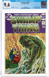 Swamp Thing #1 (DC, 1972) CGC NM+ 9.6 White pages