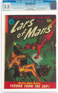 Golden Age (1938-1955):Science Fiction, Lars of Mars #10 (Ziff-Davis, 1951) CGC VG- 3.5 Cream to off-white pages....