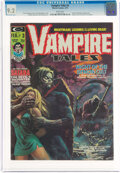 Magazines:Horror, Vampire Tales #3 (Marvel, 1974) CGC NM- 9.2 White pages....