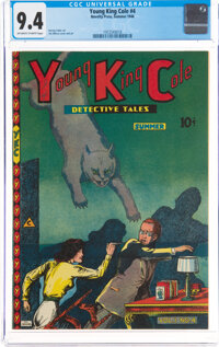 Young King Cole V1#4 (Novelty Press, 1946) CGC NM 9.4 Off-white to white pages