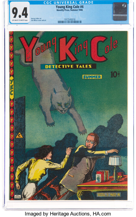 Young King Cole V1#4 (Novelty Press, 1946) CGC NM 9.4 Off-white to white pages....