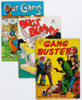 Golden Age (1938-1955):Miscellaneous, Four Color Group of 37 (Dell, 1940-62) Condition: Average GD.... (Total: 37 Comic Books)
