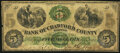 Obsoletes By State:Pennsylvania, Meadville, PA- Bank of Crawford County $5 Feb. 1, 1863 Very Good-Fine.. ...