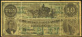 Facsimile T23 $10 1861 Advertising Note Very Fine