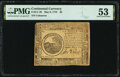 Colonial Notes:Continental Congress Issues, Continental Currency May 9, 1776 $6 PMG About Uncirculated 53.. ...