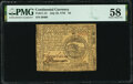 Colonial Notes:Continental Congress Issues, Continental Currency July 22, 1776 $4 PMG Choice About Unc 58.. ...