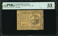 Colonial Notes:Continental Congress Issues, Continental Currency November 2, 1776 $2 PMG About Uncirculated 53.. ...